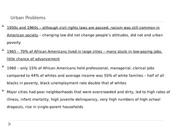 McGraw Hill US History and Geography Ch 16 Lesson 3 New Civil Rights Issues