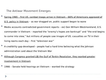 McGraw Hill US History and Geography Ch 17 Lesson 2 Vietnam Divides the Nation
