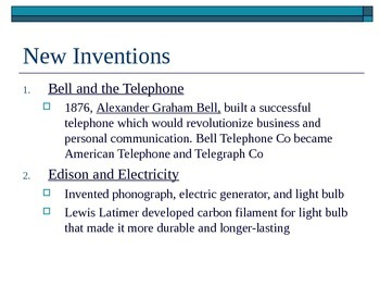 McGraw Hill US History and Geography Ch 3 Lesson 1 The Rise of Industry