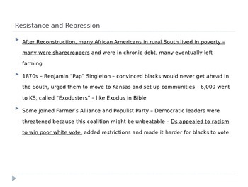 McGraw Hill US History and Geography Ch 4 Lesson 5 The Rise of Segregation