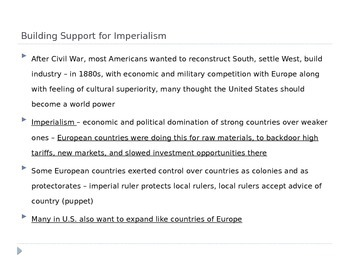 McGraw Hill US History and Geography Ch 5 Lesson 1 The Imperialist Vision