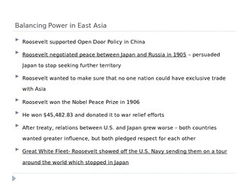McGraw Hill US History and Geography Ch 5 Lesson 3 New American Diplomacy