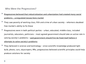 McGraw Hill US History and Geography Ch 6 Lesson 1 The Roots of Progressivism