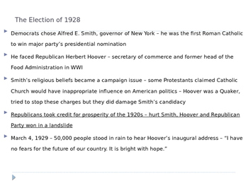 McGraw Hill US History and Geography Ch 9 Lesson 1 Causes Great Depression