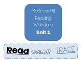 McGraw Hill Unit 1 Read Color Trace