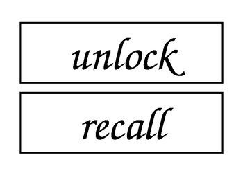 McGraw Hill Wonders Unit 2 Enlarged Spelling Words