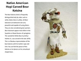 McGraw Hill Unit 2 Kachina or Katsina Dolls