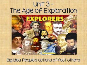 McGraw Hill Unit 3 Age of Exploration Intro Powerpoint