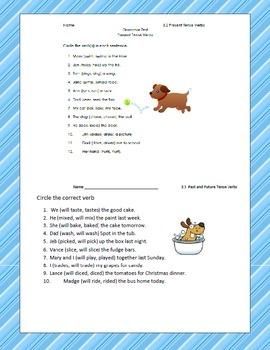 McGraw Hill Unit 3 Grammar Tests