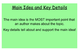 McGraw-Hill Unit 3 Week 4 Main Idea & Key Details- Tornado