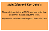 McGraw- Hill Unit 3 Week 4 Main Idea and Key Details Review- Wild Weather!
