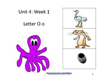 Reading Groups: Unit 4, Week 1:  Letter O