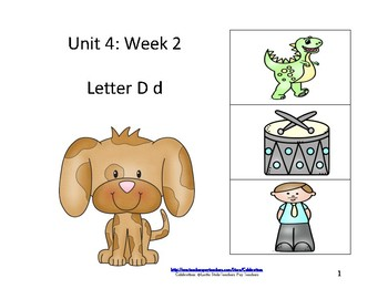 McGraw-Hill Wonders Reading Groups: Unit 4, Week 2:  Letter D