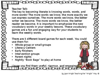 McGraw Hill Wonders Vocabulary Games Grade 2 Unit 1