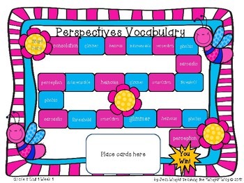 McGraw Hill Wonders Vocabulary Games Grade 6 Unit 1