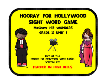 McGraw-Hill WONDERS Grade 2 Unit 1 High Frequency Word Game
