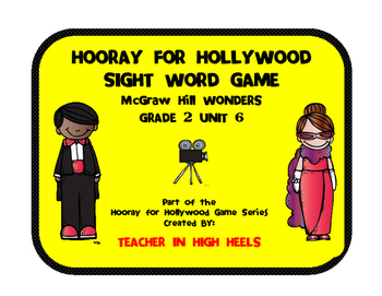 McGraw-Hill WONDERS Grade 2 Unit 6 High Frequency Word Game