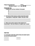 McGraw Hill WONDERS Grade 3 Unit 2.5 Comprehension Questions