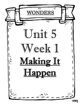 McGraw-Hill WONDERS Grade 4 Unit 5 Weeks 1 to 5 Objectives