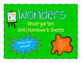 WONDERS Homework Packet Unit 1
