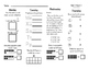 WONDERS Kindergarten Homework Packet Unit 2