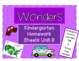 WONDERS Kindergarten Homework Packet Unit 8