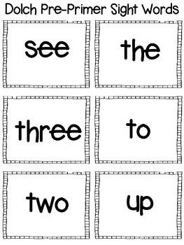 McGraw Hill WONDERS Kindergarten Sight Word Flash Cards