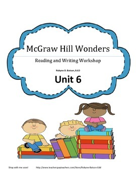 McGraw Hill WONDERS Reading and Writing Workshop 3rd Grade