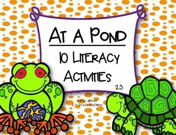 McGraw Hill Wonders 1st Grade At a Pond 2.3 {10 Literacy Activities}