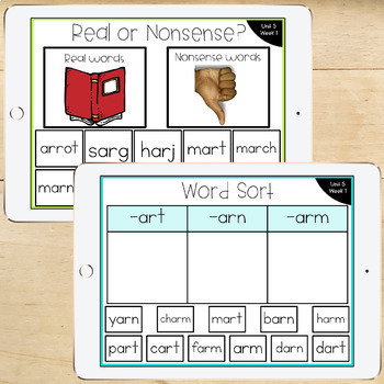 1st Grade McGraw-Hill Wonders Digital Activities for Google Classroom Unit 5