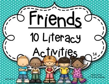McGraw Hill Wonders 1st Grade Friends 1.4 {10 Literacy Act