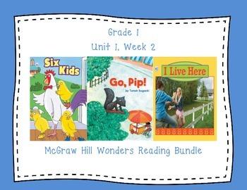 McGraw Hill Wonders 1st Grade Interactive Journal Unit 1 -Week 2