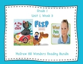 McGraw Hill Wonders 1st Grade Interactive Journal Unit 1 -Week 3
