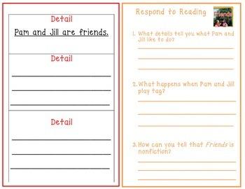 Wonders 1st Grade Interactive Journal Unit 1 Week4