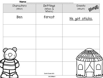 McGraw Hill Wonders 1st Grade Interactive Journal Unit 2 -Week 2