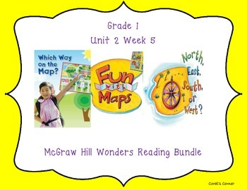 McGraw Hill Wonders 1st Grade Interactive Journal Unit 2 -Week 5