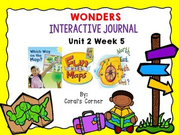 Wonders 1st Grade Interactive Journal Unit 2-Week 5