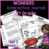McGraw Hill Wonders 2nd Grade Interactive Journal Unit 3 -Week 1