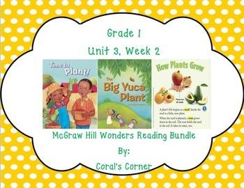 McGraw Hill Wonders 1st Grade Interactive Journal Unit 3- Week 2