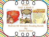 McGraw Hill Wonders 1st Grade Interactive Journal Unit 3- Week 3