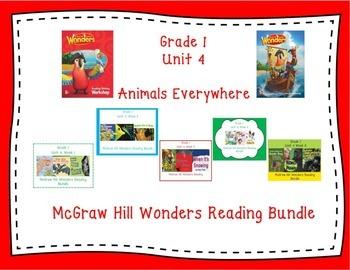 Wonders 1st Grade Interactive Journal Unit 4 BUNDLE