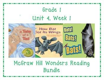 McGraw Hill Wonders 1st Grade Interactive Journal Unit 4-Week 1