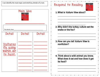 McGraw Hill Wonders 1st Grade Interactive Journal Unit 4- Week 3