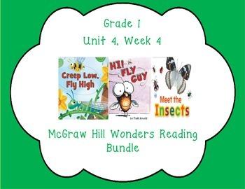 McGraw Hill Wonders 1st Grade Interactive Journal Unit 4- Week 4