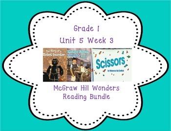 McGraw Hill Wonders 1st Grade Interactive Journal Unit 5 -Week 3