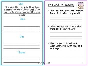 Wonders 1st Grade Interactive Journal Unit 6- Week 1