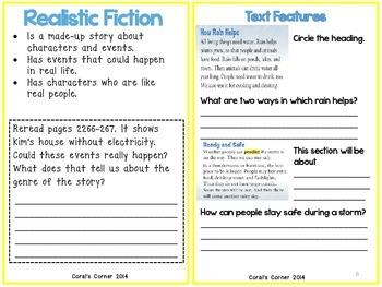 Wonders 1st Grade Interactive Journal Unit 6- Week 3
