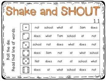 McGraw-Hill Wonders 1st Grade Nat and Sam 1.1 {10 Literacy Activities}