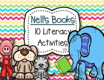 McGraw Hill Wonders 1st Grade Nell's Books 2.4 {10 Literac