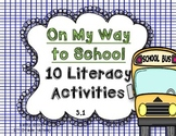 McGraw Hill Wonders 1st Grade On My Way to School {10 Literacy Activities}